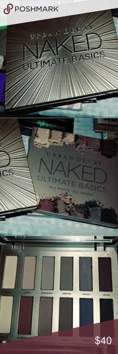 Urban Decay NAKED Ulitimate Basics Urban Decay Full Spectrum Eyeshadow Palette 12 Gorgeous shades   Make your eyes amazing with this exciting palette of colors.   Brand New and in Original Box 100% Authentic Urban Decay Makeup Eyeshadow