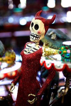 Dia De Los Muertos Devilette