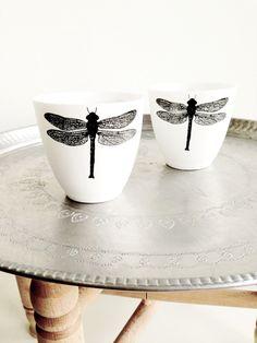 #PANDORAloves dragonfly mugs