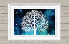 Family Tree Papercut - Family Wall Decal - Personalized Family Tree - pinned by pin4etsy.com