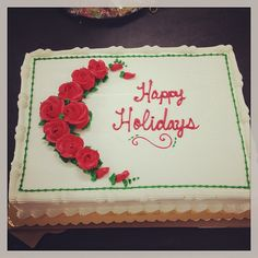 CHARM IT! HQ holiday cake looks tasty!