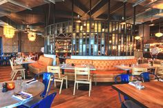 Дизайн интерьера ресторана от Blacksheep в Дубае