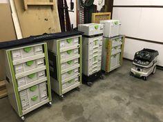 Festool Tools, Festool Systainer, Truck Storage, Locker Storage, Van Racking, Lockers, Workshop, Furniture, Home Decor