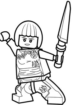 Nya Ninjago Coloring Pages Printable And Book To Print For Free Find More Online Kids Adults Of