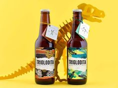 Creative Agency: Botánico  Project Type: Produced, Commercial Work  Client: Troglodita cervezas artesanas  Location: Spain  Packaging Cont...