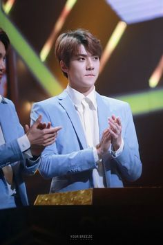 Sehun - 160121 30th Golden Disk Awards Credit: Your Breeze. (제30회 골든디스크 어워즈)