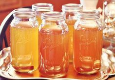 """Seriously dangerous, seriously tasty Apple Pie """"Moonshine"""". This was a major hit at our crawfish boil this week. Add frozen apples and serve on a hot day = perfection."""