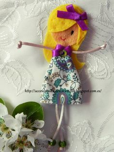 Quecas de Fieltro / Dolls felt mod6 http://accesoriosdulcescaramelos.blogspot.com.es/search/label/Mu%C3%B1ecas%20%28Quecas%20de%20Fieltro%29