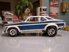 1969 Chevy Nova Yenko Plastic Model Car Kit In 1 25 Scale Http