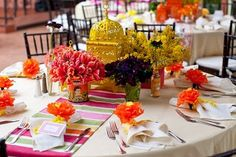 Mexican fiesta party centerpieces | simply inspired designs