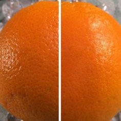 Um pequeno experimento que fiz  para provar a qualidade do primer da MARY KAY. . Na foto é o antes e o depois da casca de uma laranja , que foi escolhida por ter grandes poros. O primer foi utilizado praticamente todos os dias. E por isso recomento o primer da MARY KAY.