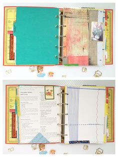 Family Scrapbook Album Premade Scrapbook Altered by TheReBookery