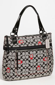 COACH 'Poppy Signature Glam' Tote available at #Nordstrom