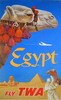 Vintage Travel Poster - Egypt
