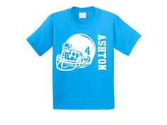 Football birthday shirt by CRAAUS on Etsy