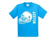 Football birthday shirt by CRAAUS on Etsy