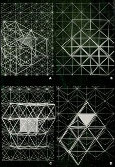 RNDRD is a partial index of architectural drawings and models scanned from design publications throughout the century. Space Truss, Conceptual Drawing, Modern Art Movements, Light Art, Textures Patterns, Modern Architecture, Geometry, Building, Structural Engineer