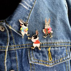 Home & Garden Animal Beautiful Bird Unicorn Metal Brooch Button Pins Denim Jacket Pin Jewelry Decoration Badge For Clothes Lapel Pins Large Assortment Arts,crafts & Sewing