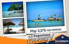 Visit the white sands of Boracay! Be in the best place to be this summer!   PM or Email us at reservations@feta... or Call us at telephone numbers (02) 631-0018, (02) 586-0777 or mobile numbers (0917) 599-2608, (0923) 445-0263 and we'd be happy to assist you on your queries! *All packages are subject to availability and price change without prior notice. Specific dates of Travel are needed to check availability.