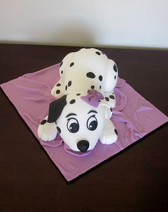 Dalmation puppy cake | Flickr - Photo Sharing!