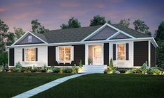 Oakwood Homes of N. Charleston manufactured or modular house details for 2483 HERITAGE home. Clayton Modular Homes, Modular Homes For Sale, Clayton Homes, Modular Home Designs, Oakwood Homes, Modular Floor Plans, Exterior Makeover, Prefab Homes, Shopping