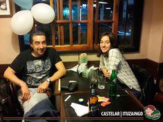 La noche del Viernes en Lo de Carlitos Castelar / Ituzaingo! Gracias amigos por compartir una noche hermosa con nosotros