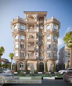 Wow, its almost like a fairy tale castle, beautiful Architecture Building Design, Classic Architecture, Islamic Architecture, Villa Design, House Design, Classic House Exterior, Building Front, Neoclassical Architecture, Fantasy House