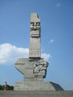 Westerplatte, 2nd World War Memorial, Gdansk. Poland - Pomnik Obrońców Westerplatte
