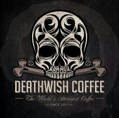 Buy Ornate Flame Skull Tattoo by vectorfreak on GraphicRiver. fully editable vector illustration (editable EPS) of ornate flame skull on isolated black background, image suitable . Coffee Is Life, I Love Coffee, Coffee Art, Coffee Shop, Espresso Coffee, Coffee Company, Coffee Mugs, Halloween Potions, Halloween Labels