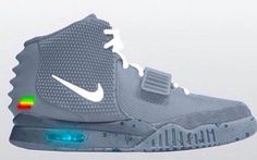 Nike x Kanye West Air Yeezy 2 'Air Mag Custom' Yeezy 2, Air Yeezy, Custom Sneakers, Custom Shoes, Nike Air Mag, Nike Wallpaper, Hype Shoes, Hip Hop Outfits, Grey Nikes