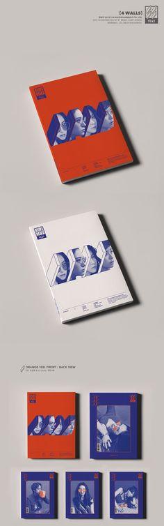 FX f(x) 4th Album Vol 4 - 4 Walls CD + Poster (Orange Version)