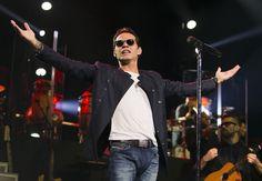 Tras muerte de su madre ya Marc Anthony realizó su primer show