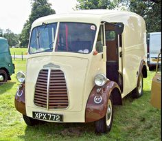 1957 Morris commercial JB Van with OHV nine Vintage Cars, Antique Cars, Road Transport, Old Commercials, Panel Truck, Morris Minor, Commercial Vehicle, Dream Cars, Classic Cars