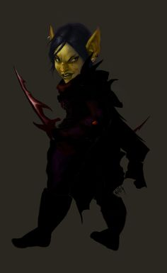 Goblin Rogue by N-pitlig on deviantART