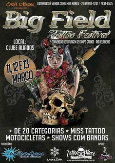 Grand champ festival Tattoo  11 - 13 Mars 2016