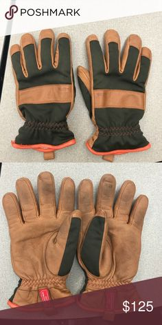 Hestra Tor Gloves Very lightly used gloves, PERFECT for winter. EXCEPTIONAL QUALITY. There are very minor amounts of discoloration through use on the fingers. These have been used for One (1) winter MINNESOTA season. These are gloves that you buy once and never have to buy another pair again.   Features/details: Material: Elk leather + Gore Windstopper Closure: Elasticized Wrist Use: casual, cold weather (fall, winter, spring)   (Selling as I am moving to a warmer climate, I won't need these…