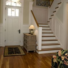 +wainscoting +stairs Design, Pictures, Remodel, Decor and Ideas - page 4 Wainscoting Stairs, Wainscoting Ideas, Staircase Remodel, Staircase Design, Stair Design, Staircase Ideas, Cool Ideas, Construction, Decoration
