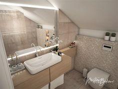 Návrh rodinného domu Rodinný dom s wellness, pohľad na umývadlo a zrkadlo rodičovskej kúpeľne Bathtub, Standing Bath, Bath Tub, Bathtubs, Tub