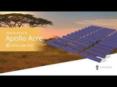 "Field Notes: Ep 2 - ""Solar Solutions for the African Market"""