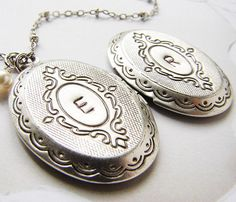 Personalized Locket Necklace Uncovet