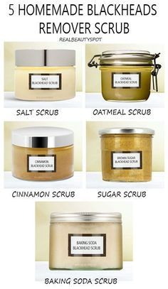 5 Best Homemade Blackhead Remover Scrubs Homemade easy scrubs Anti blackheads and points Homemade Scrub, Diy Scrub, Homemade Skin Care, Homemade Beauty Products, Homemade Facials, Beauty Care, Diy Beauty, Beauty Hacks, Blackhead Remover