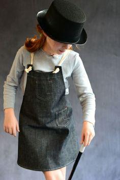 Ook leuk met bretels in plaats van met die touwen.   Shop Girls :: Dresses - Olive Juice | Childrens Clothing | Girls Dresses | Kids Clothes | Girls Clothing | Classic Kids Clothing