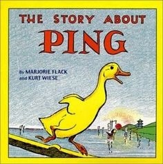 I love this story on the Yangtze river. The boats with eyes, the fishing birds, the awesome Chinese hats... Its great. The only thing I never liked were the spankings. Poor ping!