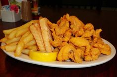 """""""The Original"""" Catfish Chips:  Spahr's Seafood Restaurant was founded in 1968 on the outskirts of New Orleans in   the small fishing community of Des Allemands. The surrounding bayous provided the seafood that founder Bill Spahr used to develop Spahr's Seafood Restaurant into an icon   in southern Louisiana. Still locally owned and operated by family and friends Spahr's Seafood Restaurant strives to use the freshest local seafood and serve our guests with genuine southern hospitality."""