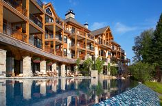 Mont Tremblant - Spend a weekend, a week or the entire month at this spectacular resort area in Quebec, just hours north of Montreal. Romantic Vacations, Romantic Getaways, Restaurants Gastronomiques, Destinations, Canada Eh, Of Montreal, Quebec City, Chapelle, Hotels And Resorts