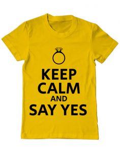 Tricou Say yes Sayings, Mens Tops, T Shirt, Design, Fashion, Supreme T Shirt, Moda, Tee Shirt, Lyrics