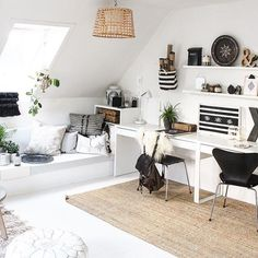 love this little cozy space