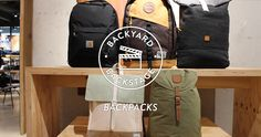 BACKYARDD RECOMMENDS - BACKPACKS