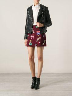 Mary Katrantzou Embellished Miniskirt - Luisa World - Farfetch.com