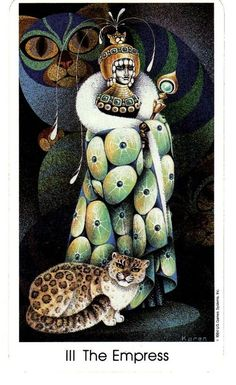 The Empress | Tarot of the Cat People